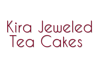 Kira Jeweled Tea Cakes