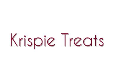 Krispie Treats