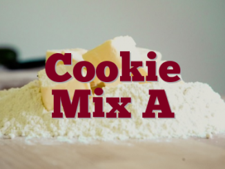 Cookie Mix A