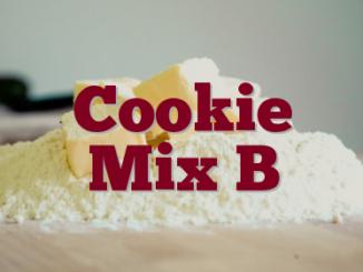 Cookie Mix B