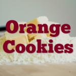 Orange Cookies