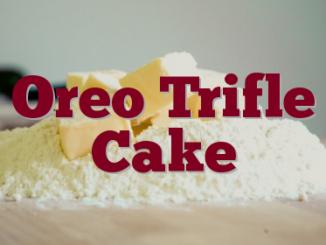 Oreo Trifle Cake