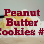 Peanut Butter Cookies #1