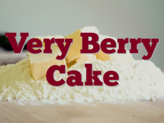 Very Berry Cake