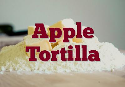 Apple Tortilla