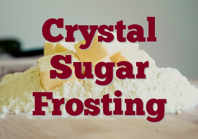 Crystal Sugar Frosting
