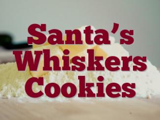 Santa's Whiskers Cookies