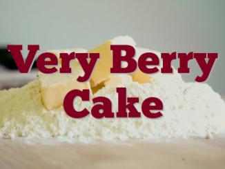 Very Berry Cake