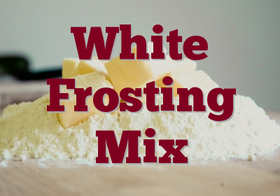White Frosting Mix